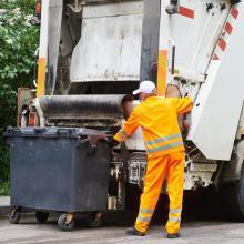 Mülltonnen sollen erst am Vorabend vor die Tür gestellt werden