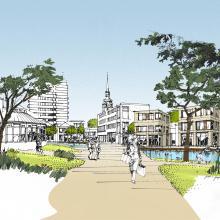 Stadtentwicklung: Die Innenstadt durch Wasser beleben