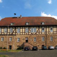 Neustadt in Mittelhessen hat Angst um den Datenschutz - Hier das Rathaus der Stadt