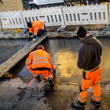 NRW will den Straßenbau stärker fördern, um die Verbesserung der Infrastruktur besonders auch in strukturschwachen Kommunen anzukurbeln.