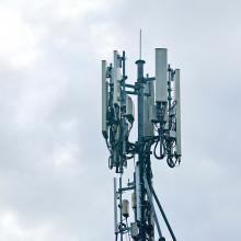 Auf dem Dach könnten die 5G-Masten am sinnvollsten angebracht sein.