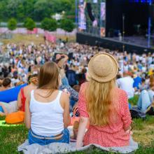 Ein Open-Air-Konzert