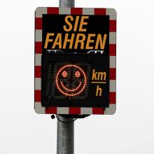 Verkehrsschilder werden häufig ignoriert - dieses hier aber nachweislich nicht!