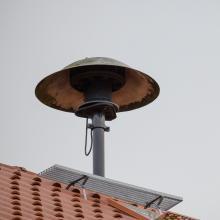 Sirene auf dem Dach