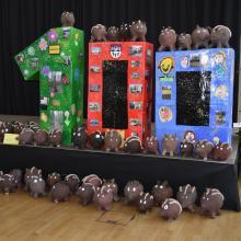Wildschweine Kunstwettbewerb Kleinmachnow