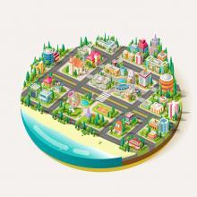 Studien zeigen wie Stadtplanung aussehen muss, damit sich Menschen wohler fühlen - in der Stadt und auf dem Land