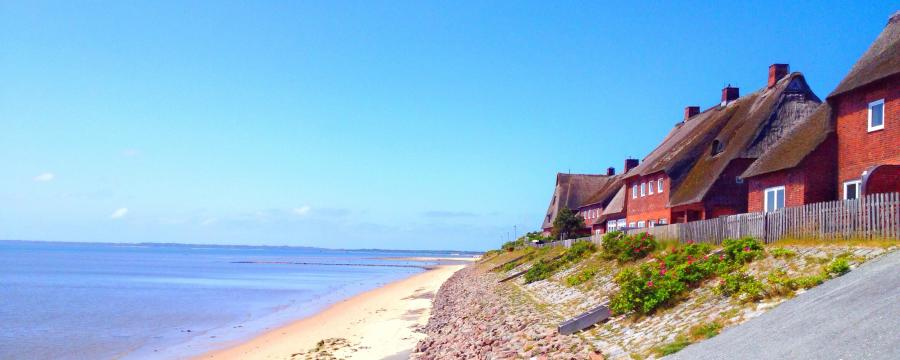 Sylt Haus in der Strandnähe