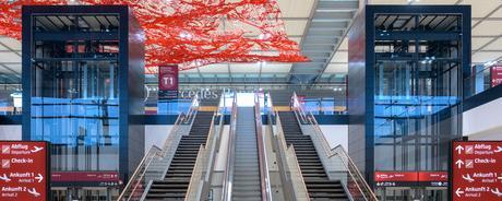 Terminal 1 im Flughafen BER