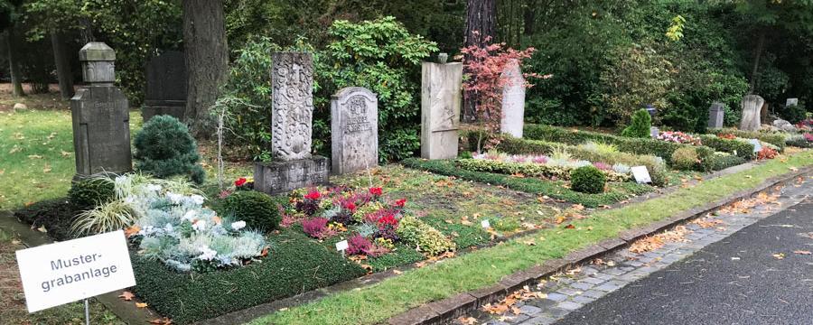Friedhof Leipzig Mustergrabanlage