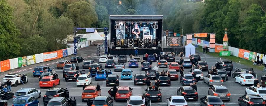 Das Wäller Autokino in Altenkirchen