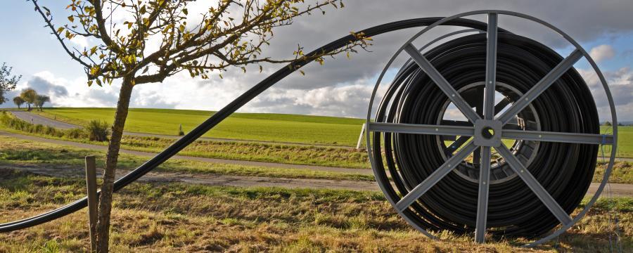 Glasfasernetzausbau auf dem Land