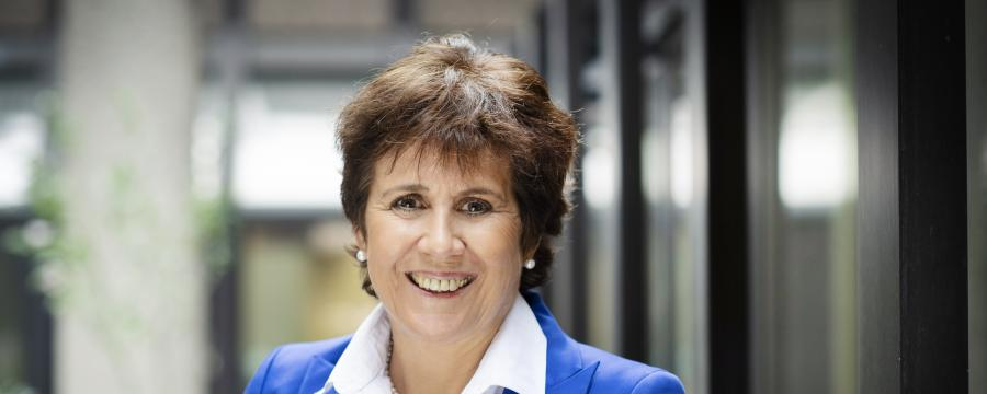 Ute Teichert, Vorsitzende des Bundesverbandes der Ärztinnen und Ärzte des Öffentlichen Gesundheitsdienstes