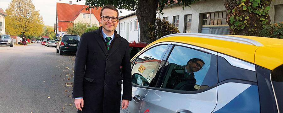 Philipp Thoma, Bürgermeister von Fischbachtal