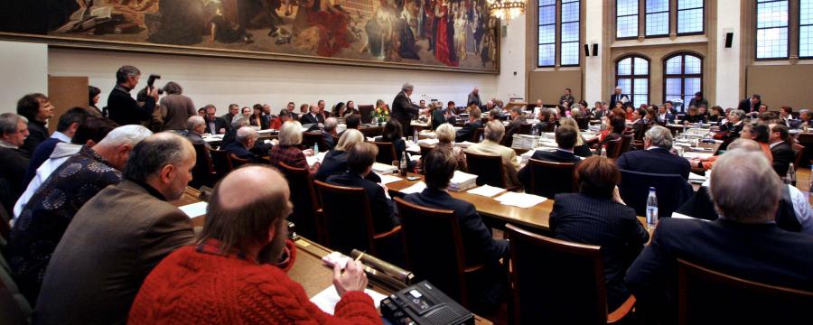 Hier tagt der Münchner Stadtrat normalerweise - in Pandemiezeiten natürlich undenkbar