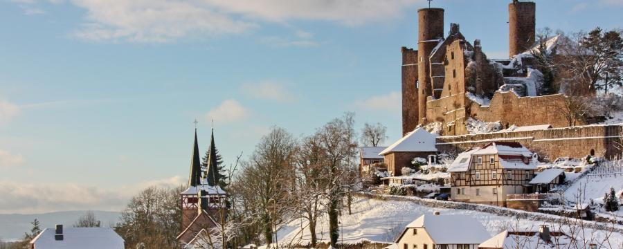 Burg Hanstein in Thüringen