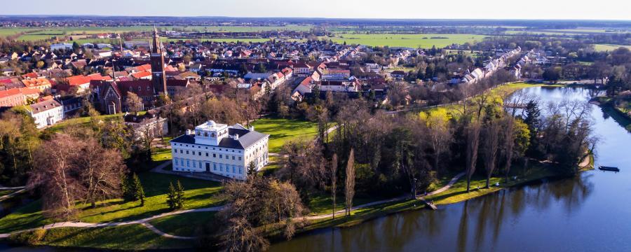 Oranienbaum-Wörlitz - eine Stadt im Kulturerbe.
