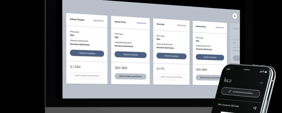 Luca Warn-App - nur eine von einem ganzen Dutzend an Lösungen, die aber die Gesundheitsämter vor Probleme stellt