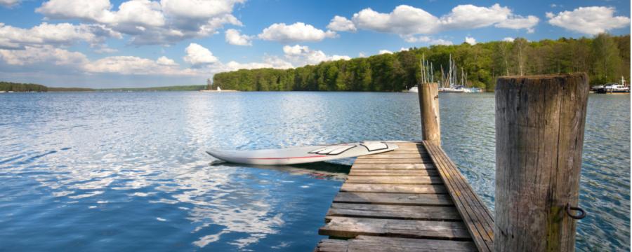 Zweitwohnsitz in der Uckermark am See