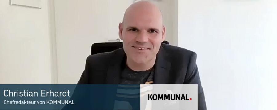 Wie die Kommunen die Corona-Krise meistern - ein Interview mit Christian Erhardt