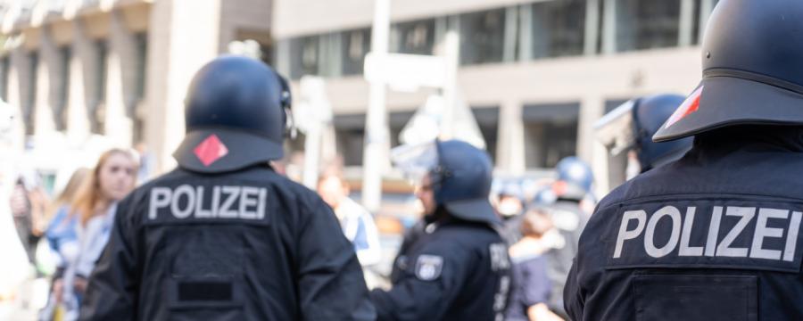 Querdenkerdemo Polizei Recht