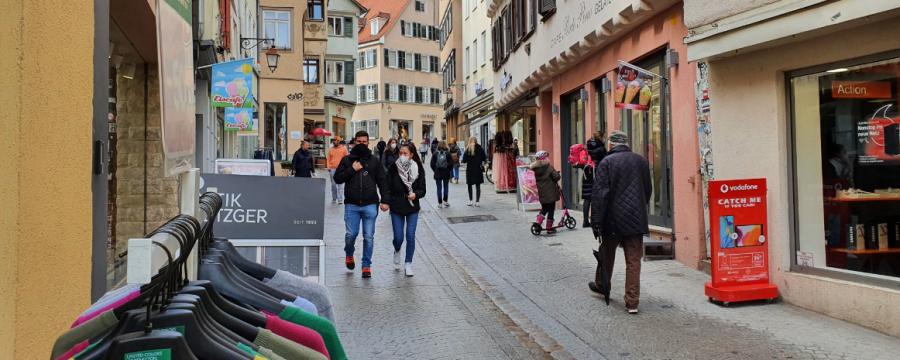 Tübingen Innenstadt Modellprojekt