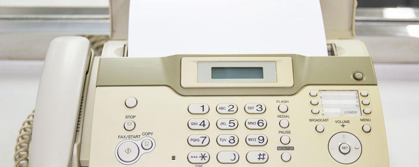Faxgeräte sind zu digital, sagt eine Datenschutzbeauftragte und verbietet den Einsatz in Behörden