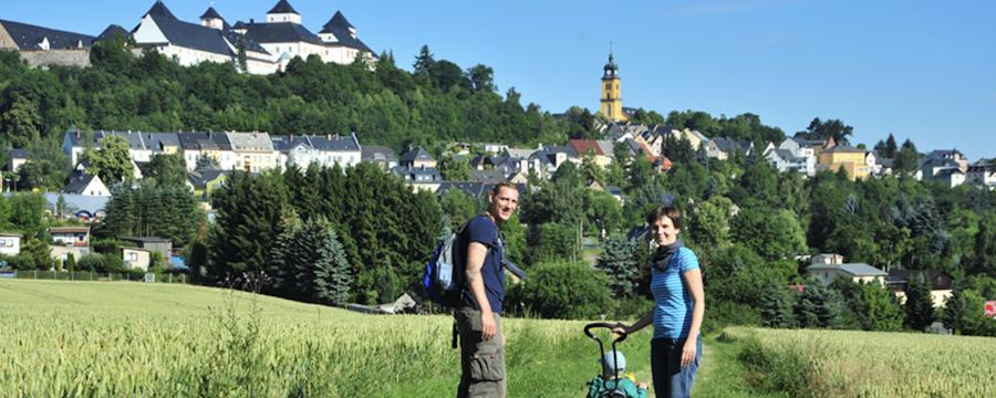 Die wissenschaftliche Begleitung ergab: Öffnungen haben keine Auswirkungen auf die Inzidenz - Auswertung nach dem Modellprojekt in Augustusburg (hier das Schloss im Bild).