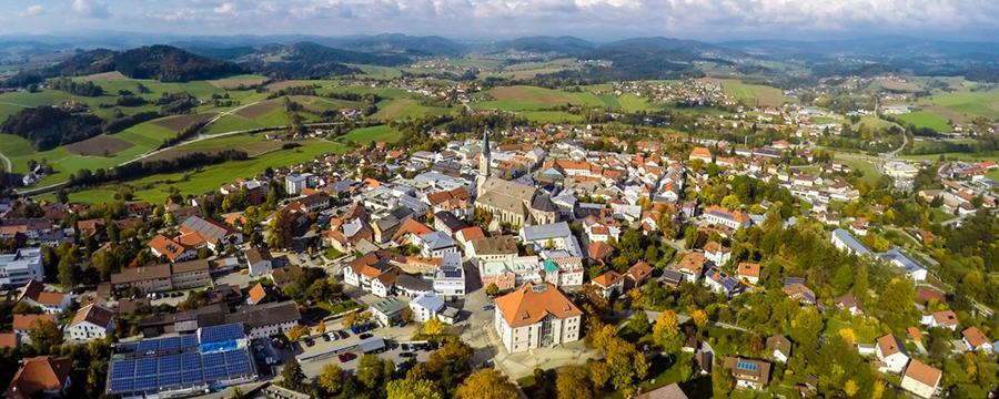 Waldkirchen im Bayerischen Wald Luftbild