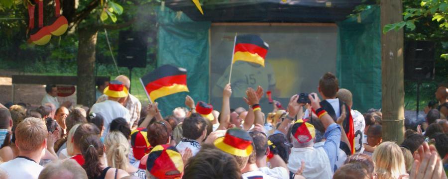 Public Viewing Fußball EM