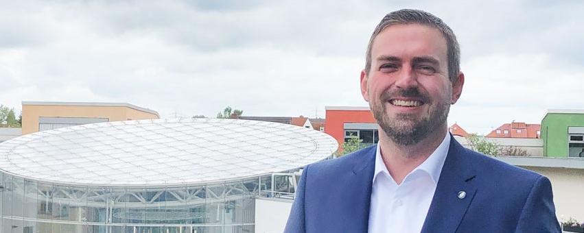 Bürgermeister von Dormagen Erik Lierenfeld