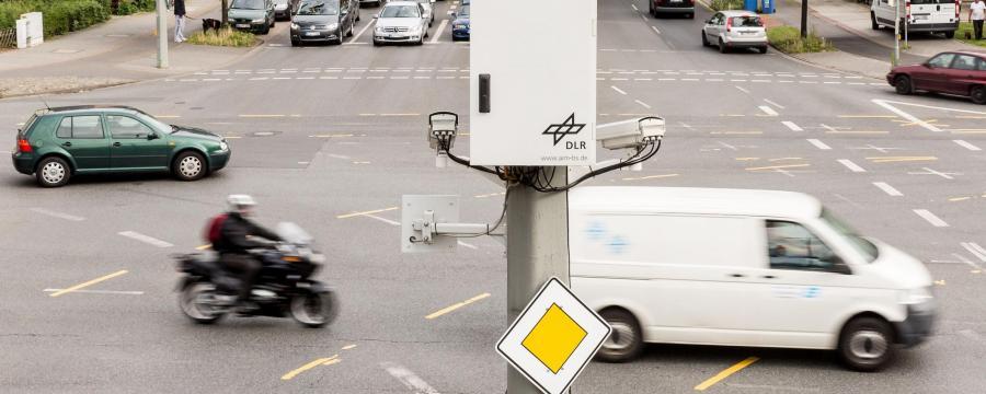 Kreuzung Braunschweig Autonomes Fahren