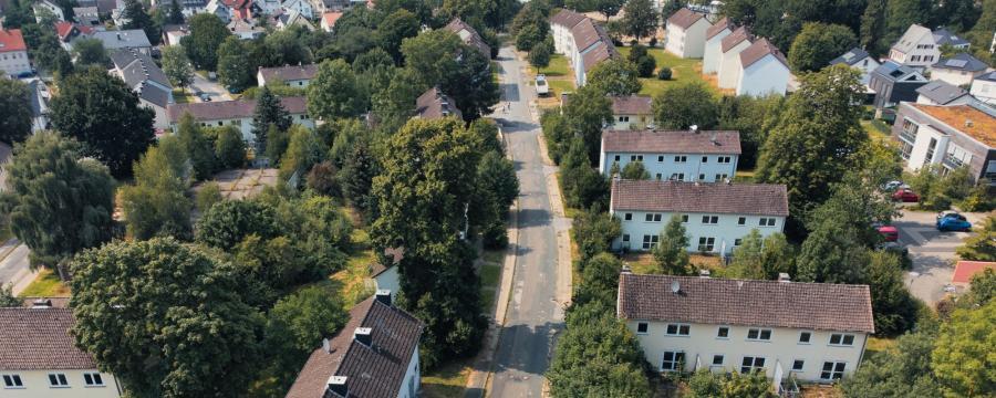 Die Siedlung Breitefeld in Detmold
