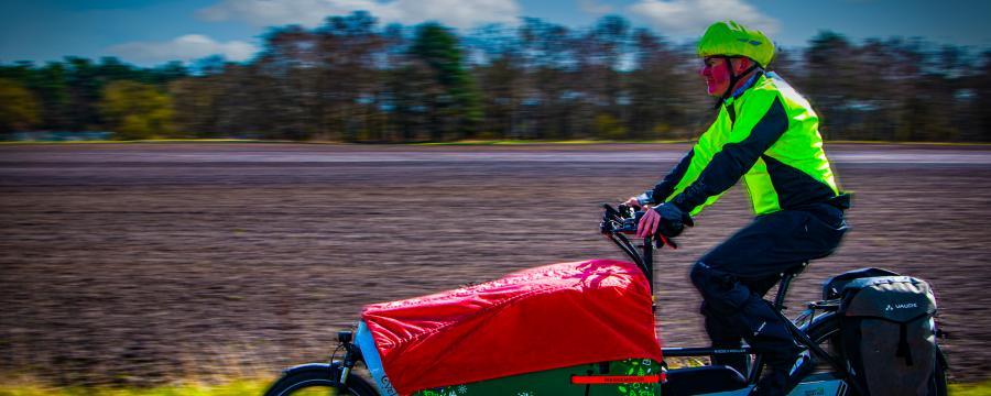 Lastenräder werden seit Jahren gefördert - die Grünen wollen nun ein zusätzliches Förderprogramm