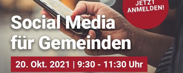 Webinar: Social Media für Gemeinden