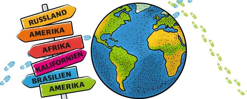 Mit Hilfe von Ortsnamen lässt sich eine Weltreise durch Deutschland organisieren - wir zeigen Ihnen die kuriosen Orte