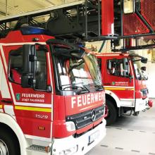 Feuerwehr Feuerwehrauto Falkensee attraktiver Arbeitgeber
