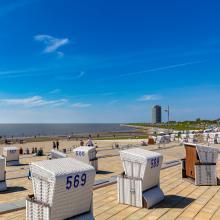 Büsum Strand bei Zweitwohnbesitzern beliebt