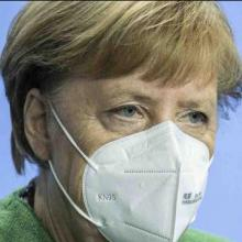 Kanzlerin Merkel leitet den Corona-Krisengipfel