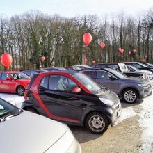 Parteitag als Autokino - die SPD in Papenburg hat ihn durchgeführt (Bild aus einem Video der SPD Papenburg)