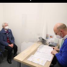 Termin im Impfzentrum in Borken