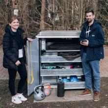 Die Sportbox der Stadt Münster kommt sehr gut an