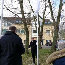 Bürgermeister hisst weiße Fahne