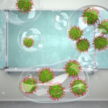 Das Umweltbundesamt (UBA) empfiehlt den Einsatz von mobilen Luftfiltern in Innenräumen.