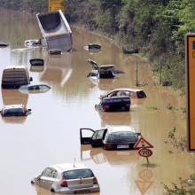 Hochwasserschutz ist oft teuer - es gibt aber auch vergleichsweise leichte Tricks, was Kommunen tun können - im Bild: die  Auswirkungen der Hochwasserkatastrophe im Erftkreis