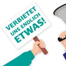 Wir müssen endlich wieder streiten, statt die moralische Keule zu schwingen, meint Christian Erhardt vor der Bundestagswahl