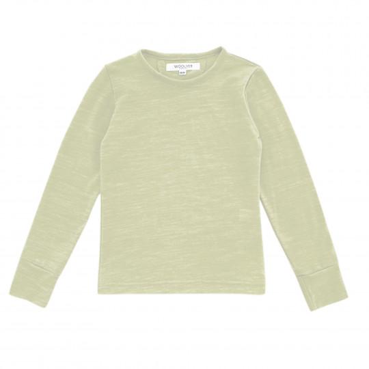 Bluza din lana merinos Sage