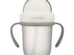 "Canita sport ""Matte Pastels"" cu pai retractabil, Canpol babies®, fara BPA, 210 ml, gri"