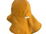 Palarie ajustabila din in organic Yellow
