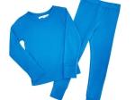 Bluza din lana merinos Cobalt Blue