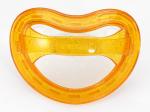 Suzeta ortodontica Curaprox pentru copii intre 0 si 7 luni, orange